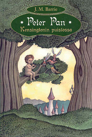 Peter Pan Kensingtonin puistossa