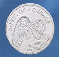 Tuotekuva: Rohkeuden enkeli -kolikko