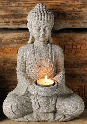 Tuotekuva: Meditoiva Buddha polyesteria