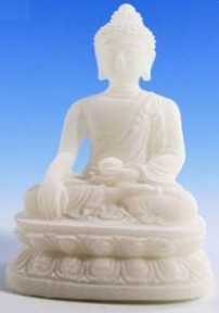 Tuotekuva: Maata koskettava Buddha