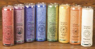 Tuotekuva: Chakra-kynttilät