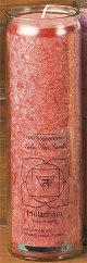 Tuotekuva: Chakra-kynttilä, punainen Muladhara