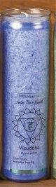 Tuotekuva: Chakra-kynttilä, sininen Visuddha
