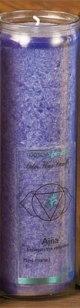Tuotekuva: Chakra-kynttilä, indigonsininen Ajna