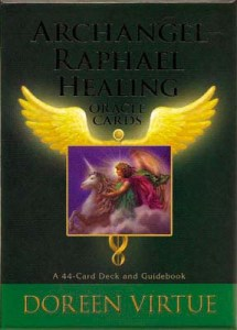 Tuotekuva: Archangel Raphael Healing Oracle Cards