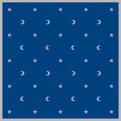 Tuotekuva: Kuu ja tähdet tarot pöytäliina