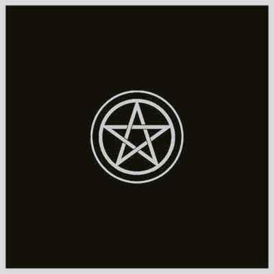 Tuotekuva: Tarot pöytäliina pentagrammi