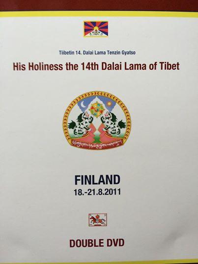 Tuotekuva: Dalai Lama Finland 18-21.8.2011