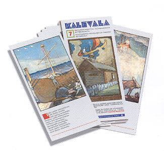 Tuotekuva: Kalevala - 7 kuvapostikorttia suomalaisesta mytologiasta