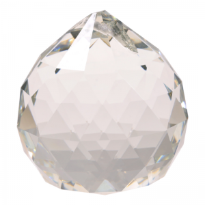 Tuotekuva: Kirkas pallo, hiottua lasia, 5 cm