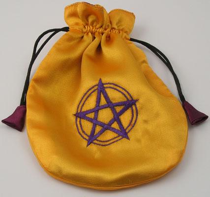 Tuotekuva: Pentagrammi-tarotkorttipussi