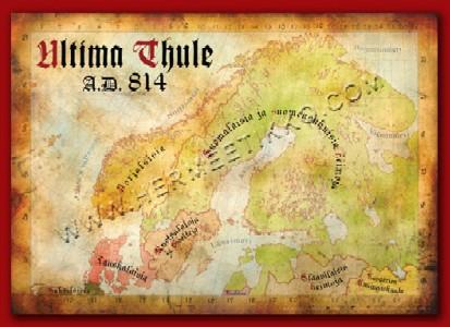 Tuotekuva: Ultima Thule A.D. 814 -karttajuliste