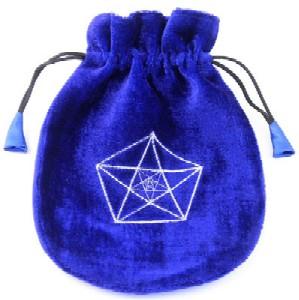 Tuotekuva: Kolme pentagrammia -tarotkorttipussi